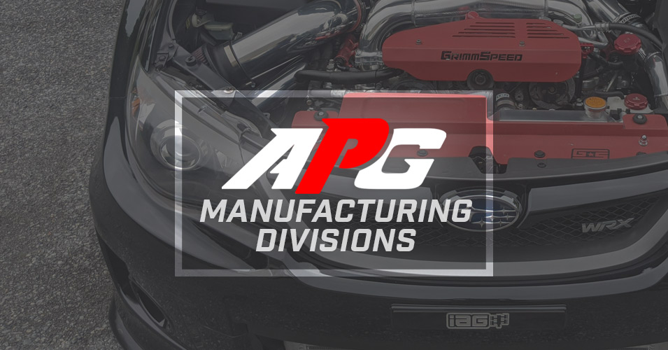 Aftermarket Performance Parts Manufacturing!