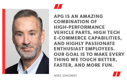 CEO of APG, Mike Sinoway
